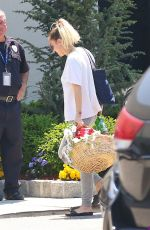 MILEY CYRUS at Teterboro Airport in New Jersey 05/18/2017