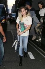 MILEY CYRUS Out and About in New York 05/17/2017
