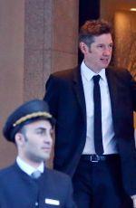 MILLA JOVOVICH Leaves Her Hotel in Milan 05/07/2017