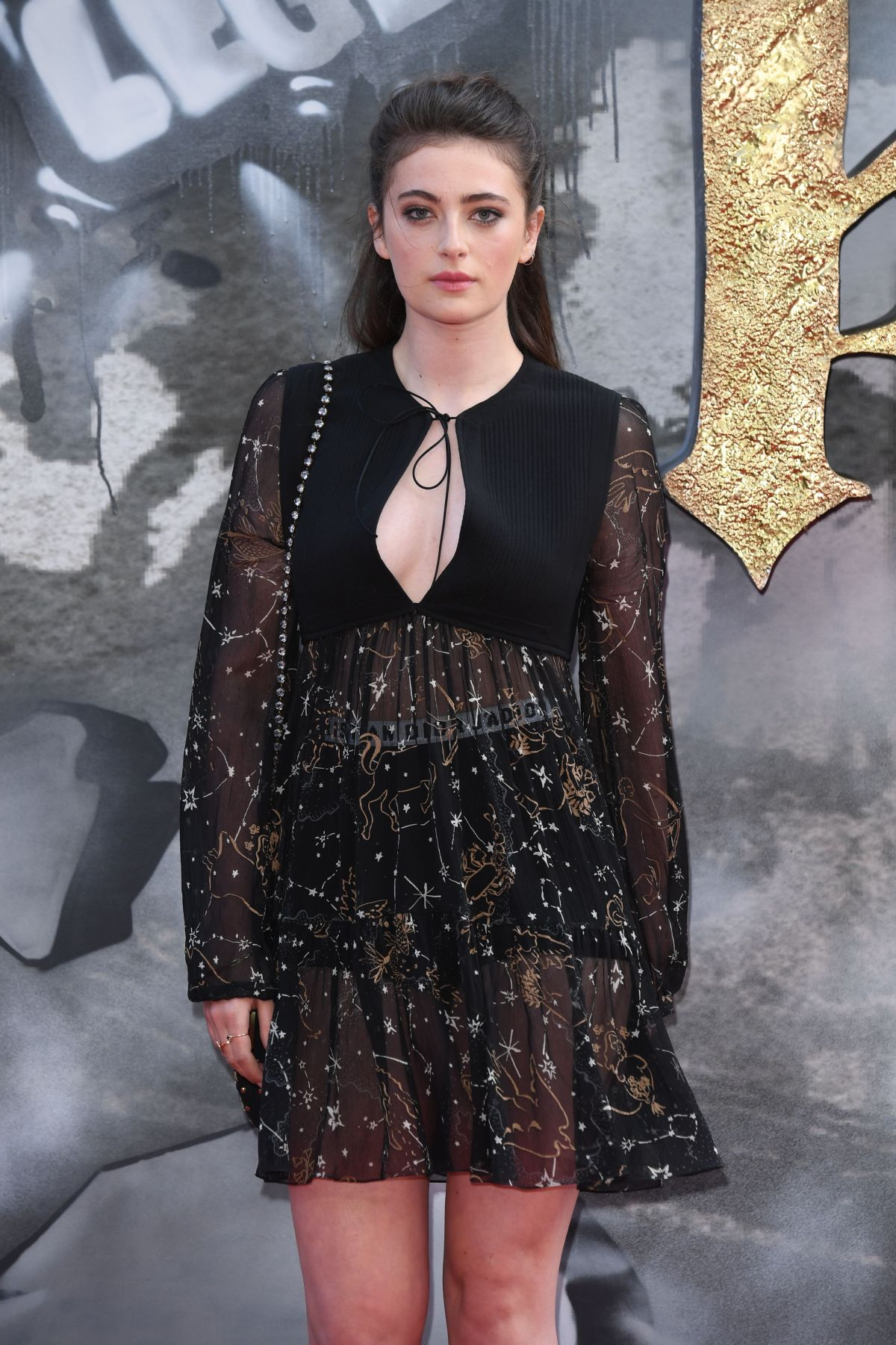 MILLIE BRADY at King Arthur: Legend of the Sword Premiere in London 05/10/2017