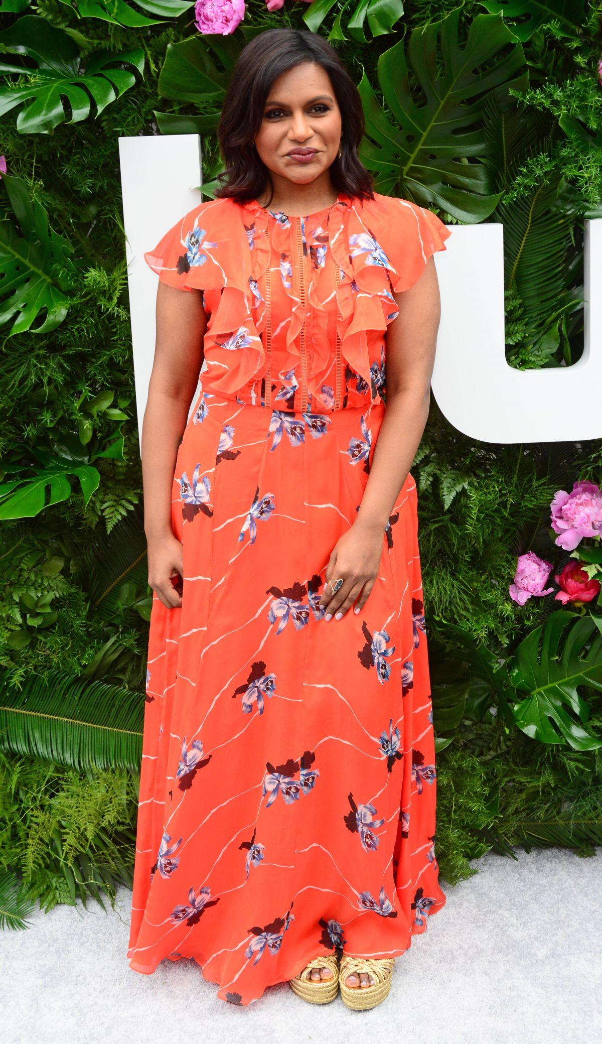 MINDY KALING at Hulu Upfront in New York 05/03/2017