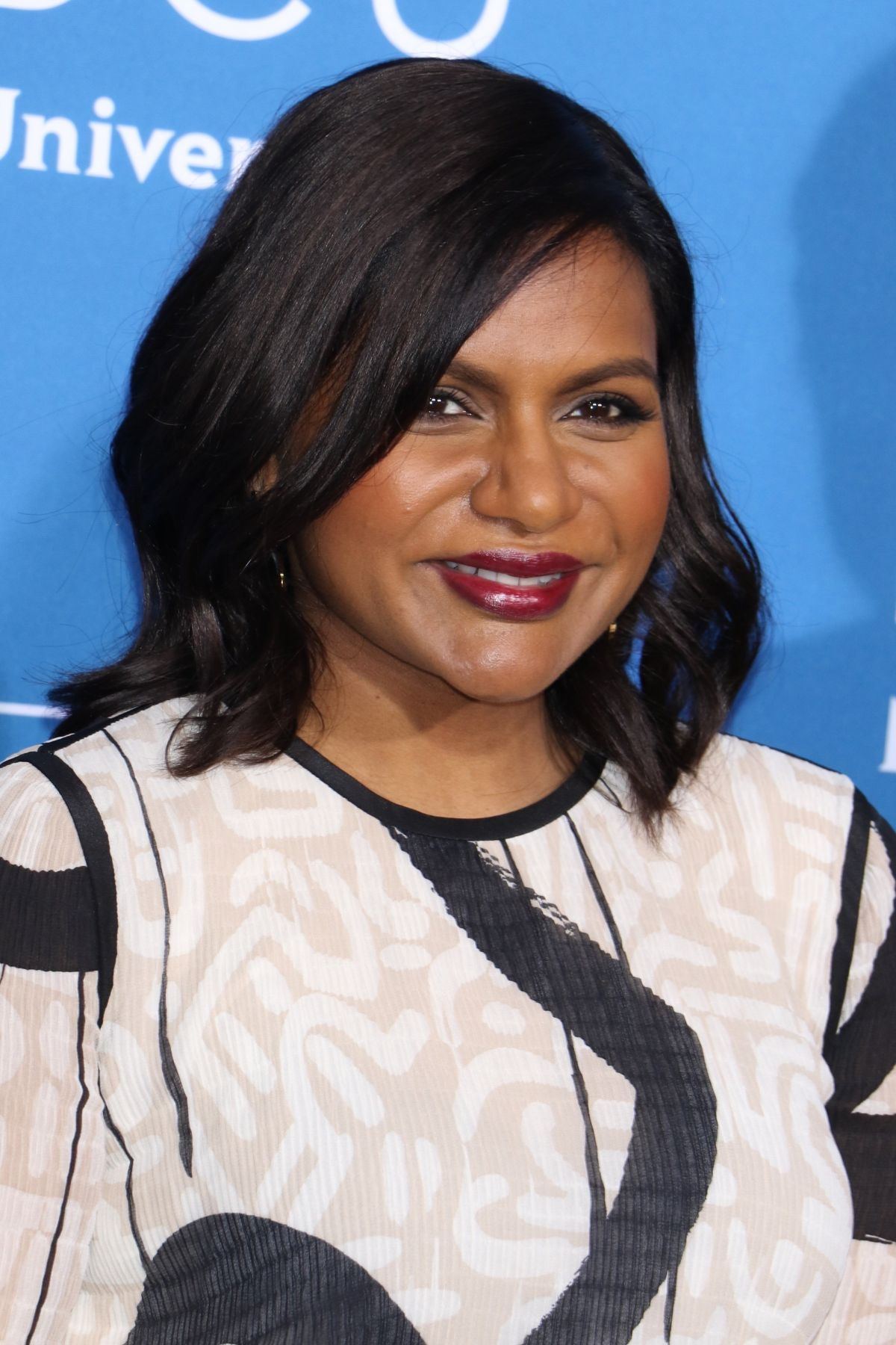 MINDY KALING at NBC/Universal Upfront in New York 05/15/2017