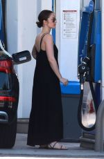 MINKA KELLY at a Gas Station in West Hollywood 05/21/2017