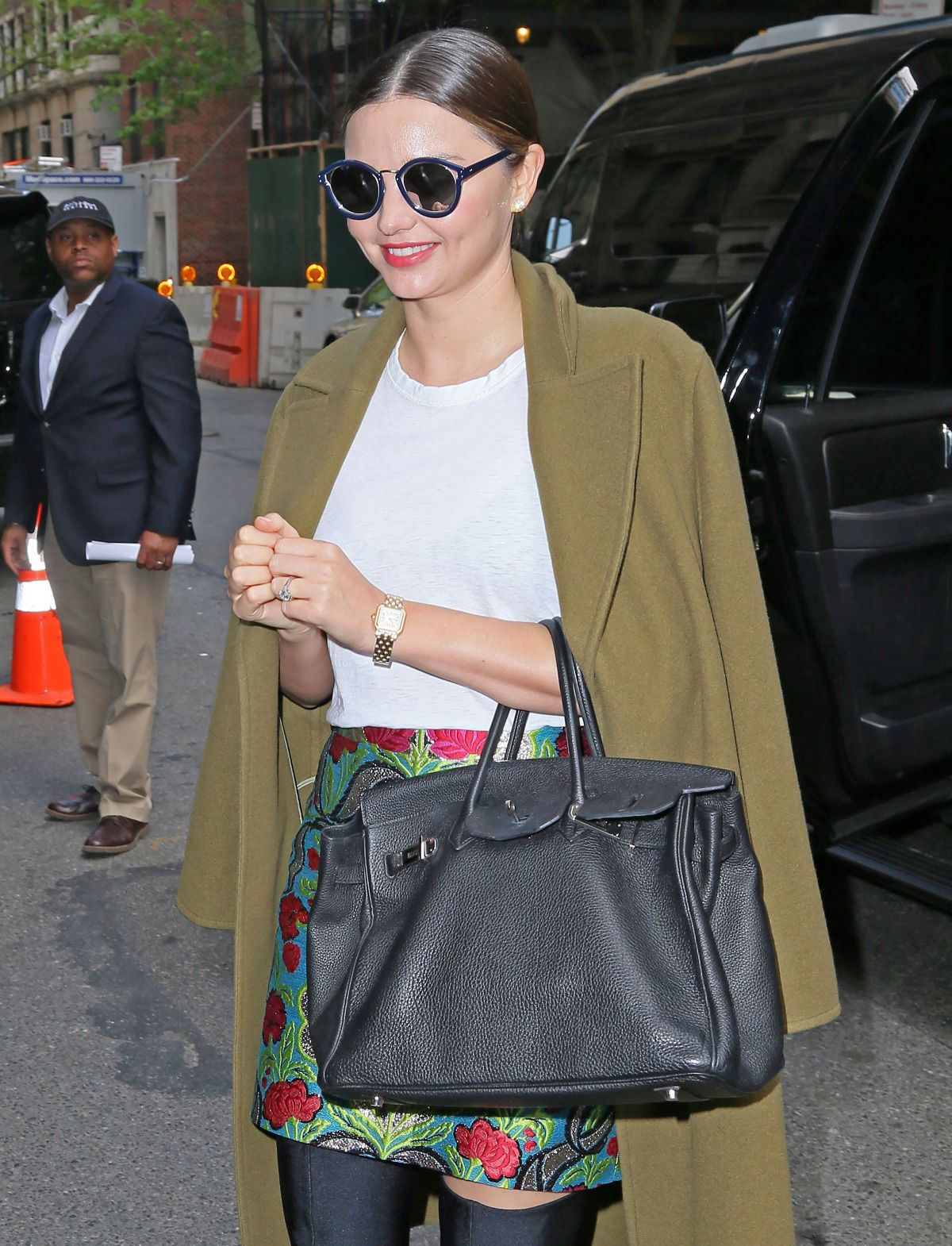 MIRANDA KERR Out and About in New York 05/01/2017