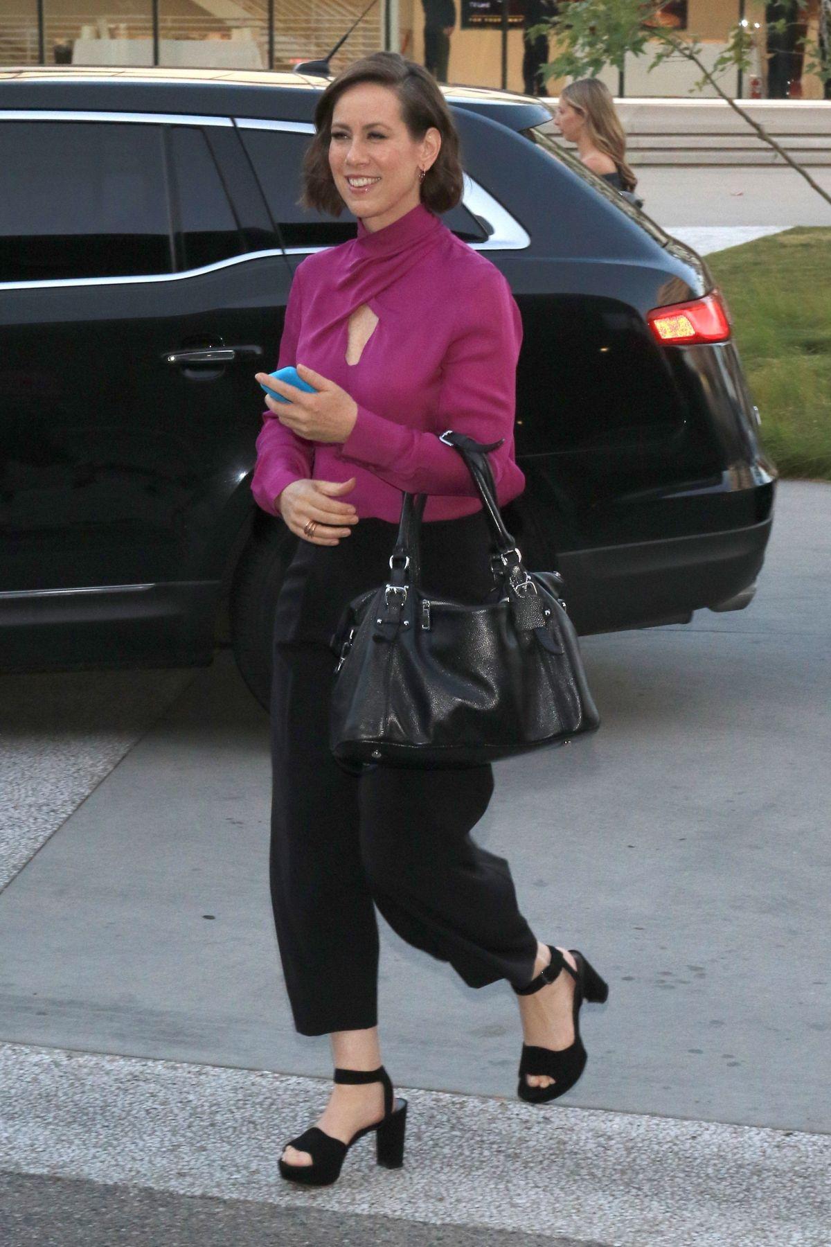 MIRIAM SHOR Arrives at Saban Media Center in Hollywood 05/13/2017