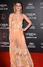 MISCHA BARTON at L'Oreal 20th Anniversary Party at Cannes Film Festival 05/24/2017