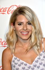 MOLLIE KING at Coca-Cola Summer Party in London 05/10/2017