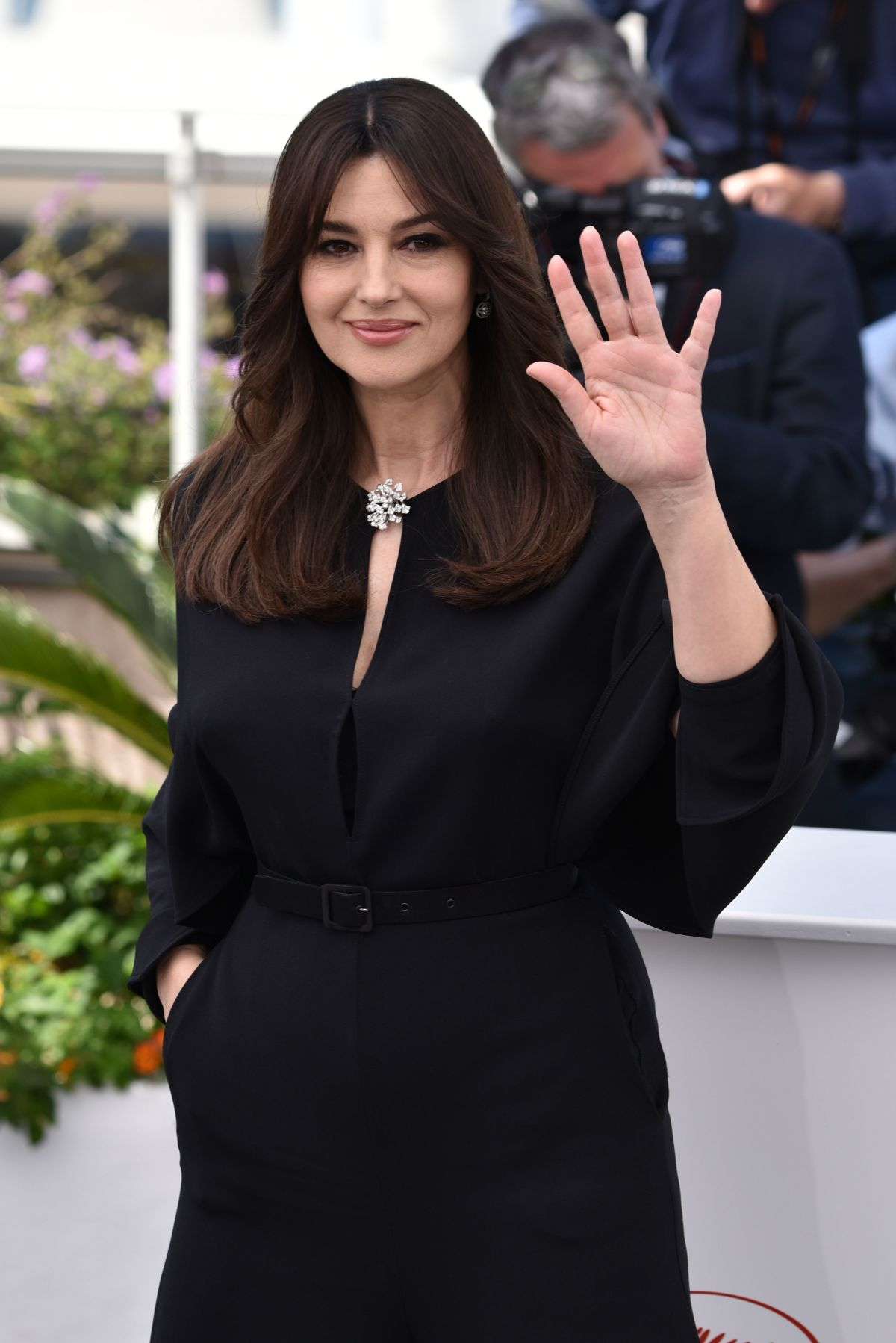 Monica Bellucci At Mistress Of Ceremonies Photocall At 70th