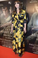 MONICA BELLUCCI at On the Milky Road Premiere in Rome 05/08/2017