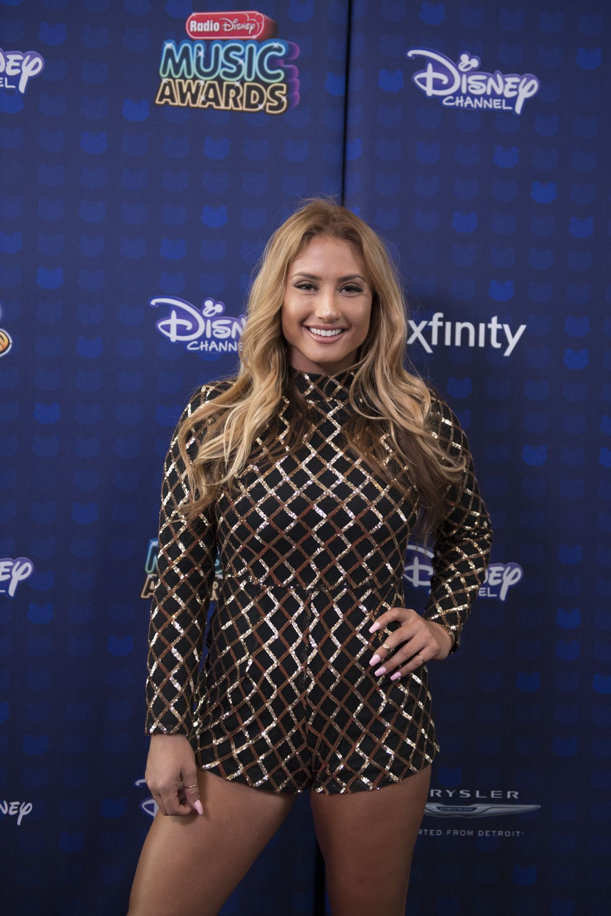 MONTANA TUCKER at 2017 Radio Disney Music Awards in Los Angeles 04/29/2017