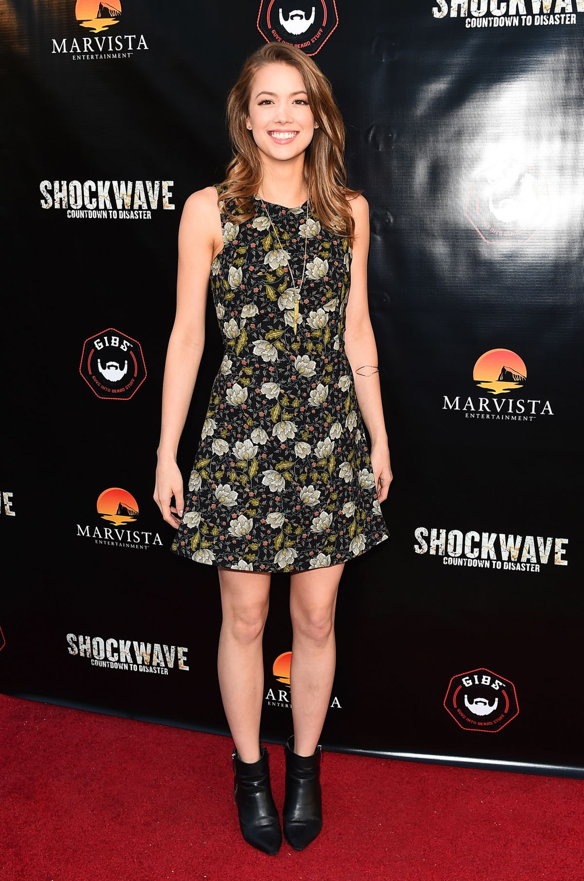 MORGAN LINDHOLM at Shockwave Premiere in Los Angeles 05/11/2017