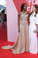 NAOMI CAMPBELL and QUEEN RANIA at Fashion for Relief Charity Gala in Cannes 05/21/2017