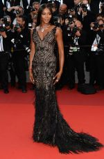 NAOMI CAMPBELL at Anniversary Soiree at 70th Annual Cannes Film Festival 05/23/2017
