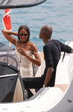 NAOMI CAMPBELL at Hotel Du Cap Eden Roc in Antibes 05/22/2017