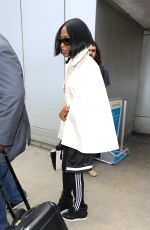 NAOMI CAMPBELL at LAX Airport in Los Angeles 0502/2017