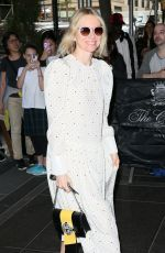 NAOMI WATTS Arrives at Carlyle Hotel in New York 05/01/2017