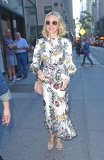 NAOMI WATTS Arrives at Today Show in New York 05/18/2017