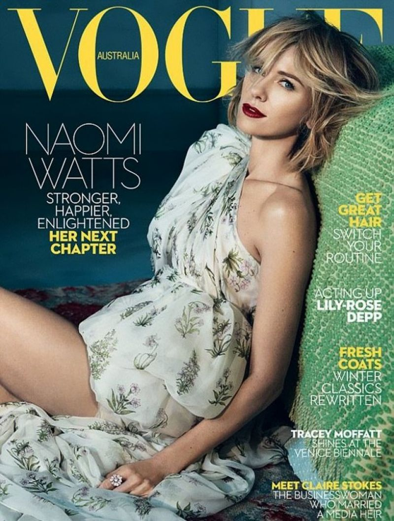 NAOMI WATTS in Vogue Magazine, Australia June 2017