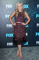 NATALIE ALYN LIND at Fox Upfront Presentation in New York 05/15/2017