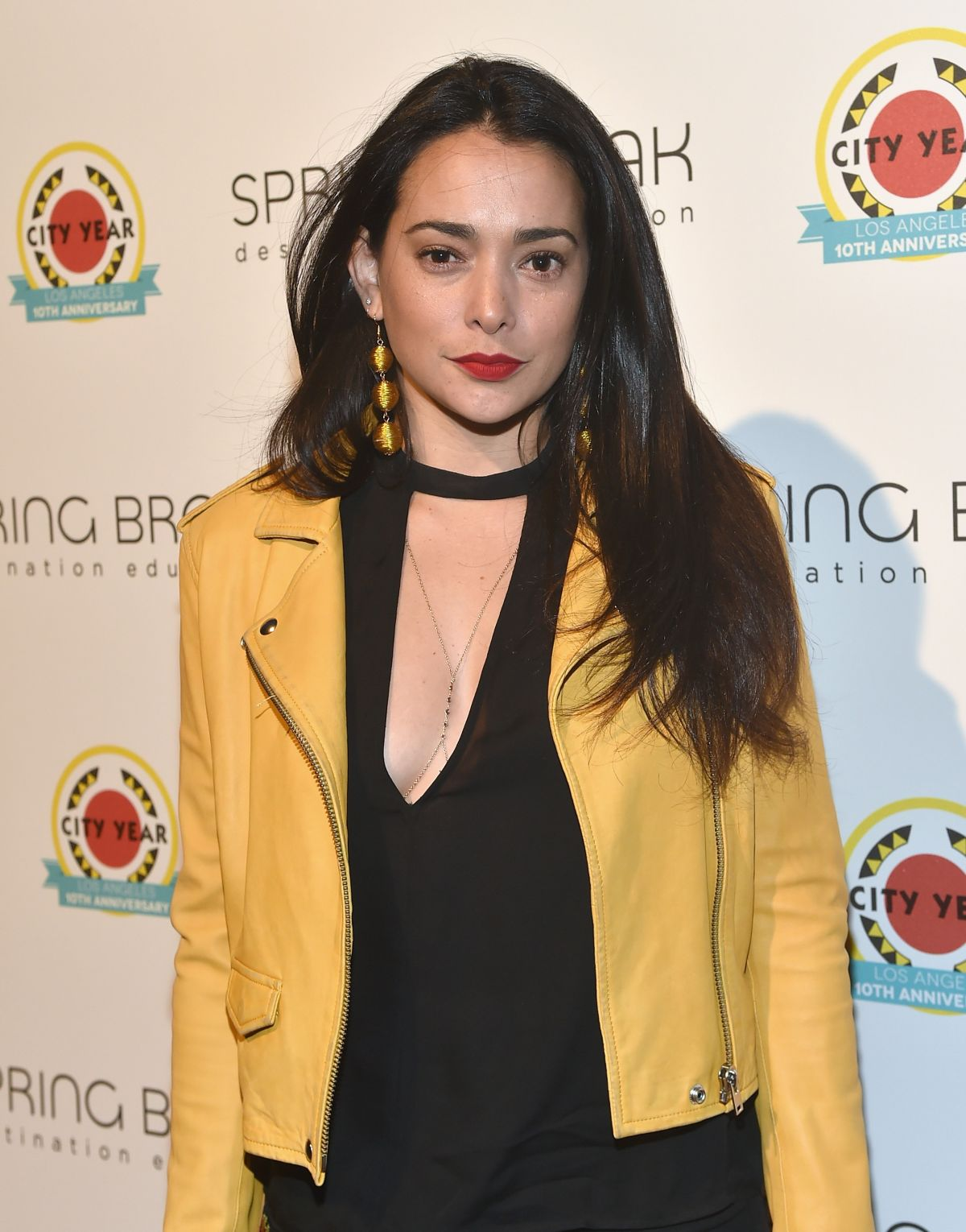 NATALIE MARTINEZ at City Year Los Angeles Spring Break in Los Angeles 05/06/2017