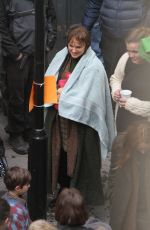 NATALIE PORTMAN in the Setof The DEath and Life of John F. Donovan in London 05/04/2017
