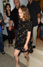 NATALIE PORTMAN Leaves Tetou Restaurant in Cannes 05/16/2017