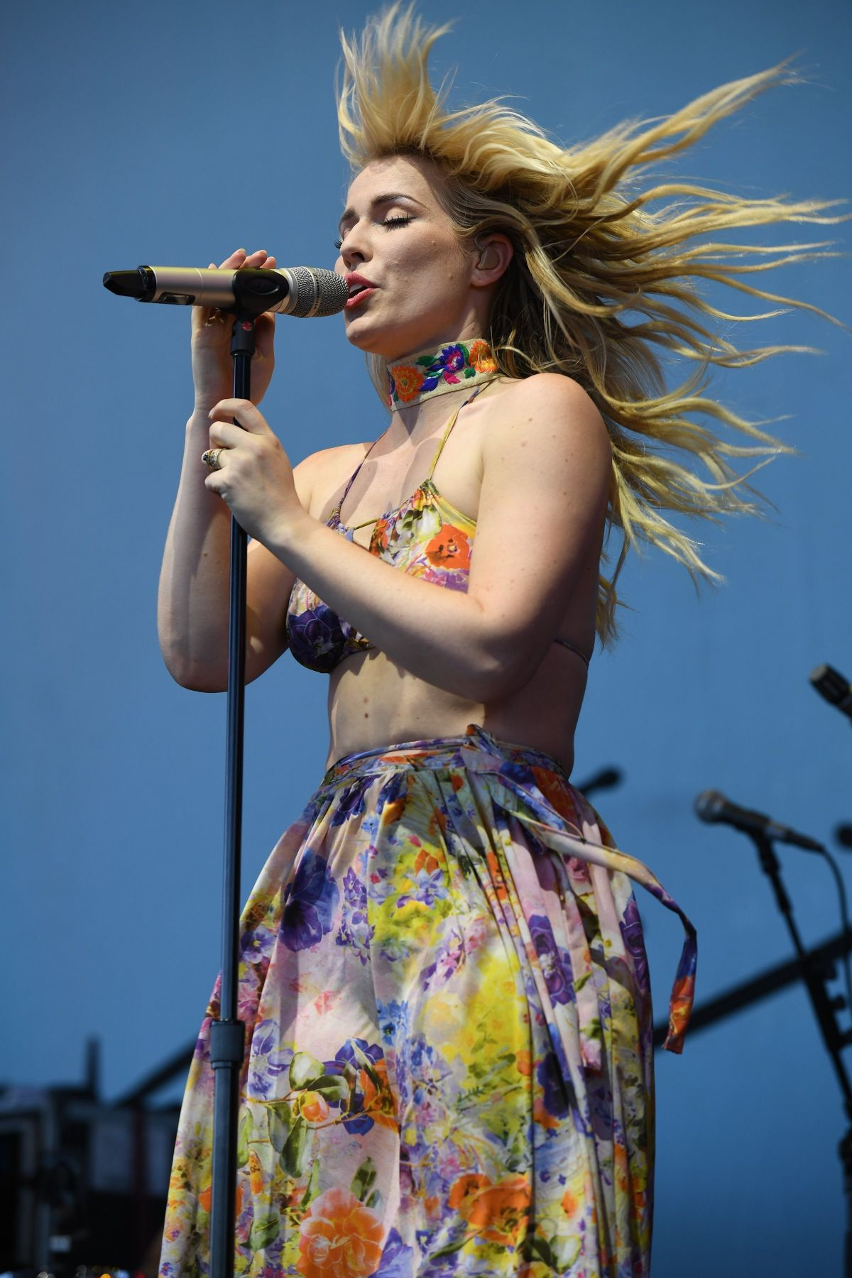 NATASHA BEDINGFIELD Performs at Perfect Vodka Amphitheater in West Palm Beach 05/27/2017