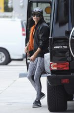 NAYA RIVERA at a Gas Station in Los Angeles 05/15/2017