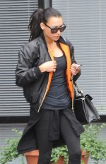 NAYA RIVERA Out and About in Los Feliz 05/09/2017