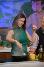 NEVE CAMPBELL at The Chew 05/25/2017