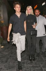 NICOLA PELTZ at Beauty & Essex in Los Angeles 05/30/2017