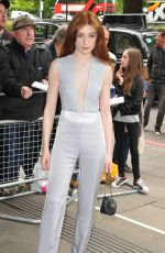 NICOLA ROBERTS at Ivor Novello Awards in London 05/18/2017