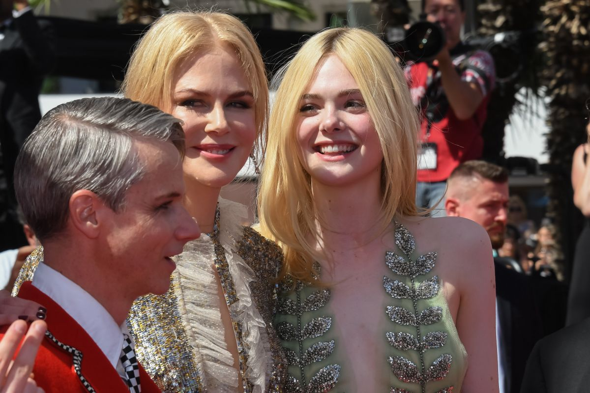 Nicole Kidman At How To Talk To Girls At Parties Premiere At 70th Annual  Cannes Film