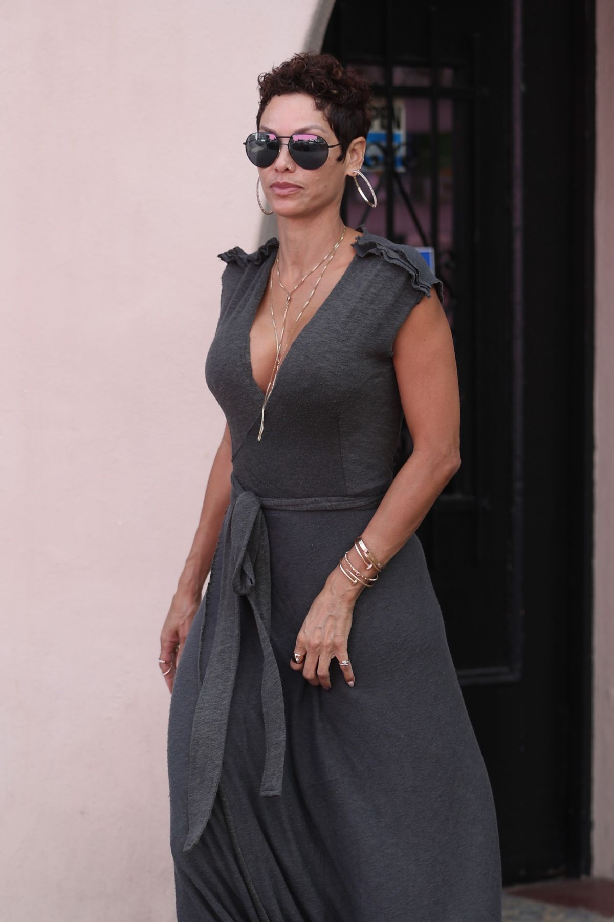 NICOLE MURPHY Out in West Hollywood 05/17/2017