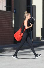 NICOLE RICHIE Leaves a Gym in Los Angeles 05/18/2017