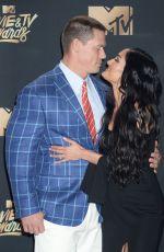 NIKKI BELLA and John Cena at 2017 MTV Movie & TV Awards in Los Angeles 05/07/2017