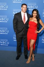 NIKKI BELLA and John Cena at NBC/Universal Upfront in New York 05/15/2017