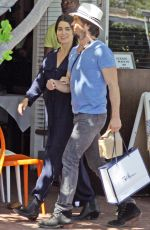 NIKKI REED and Ian Somerhalder Out and About in Los Angeles 05/19/2017