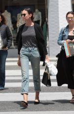 ODETTE ANNABLE Arrives at La Scala in Beverly Hills 05/08/2017