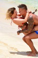 OLIVIA BUCKLAND in Bikini on the Beach in Cape Verde 05/30/2017