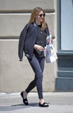 OLIVIA PALERMO Out and About in New York 05/17/2017