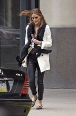 OLIVIA PALERMO Out and About in New York 05/27/2017