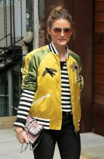 OLIVIA PALERMO Out at Zero Bond Street in New York 05/23/2017