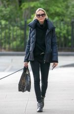 OLIVIA PALERMO Wlaks Her Dog Out in New York 05/09/2017