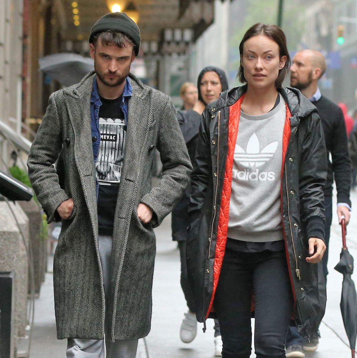 OLIVIA WILDE and Tom Sturridge Arrives at Hudson Theatre in New York 05/25/2017