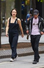 OLIVIA WILDE and Tom Sturridge Out in New York 05/27/2017