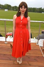 OPHELIA LOVIBOND at Audi Polo Challenge at Coworth Park in Ascot 06/06/2017
