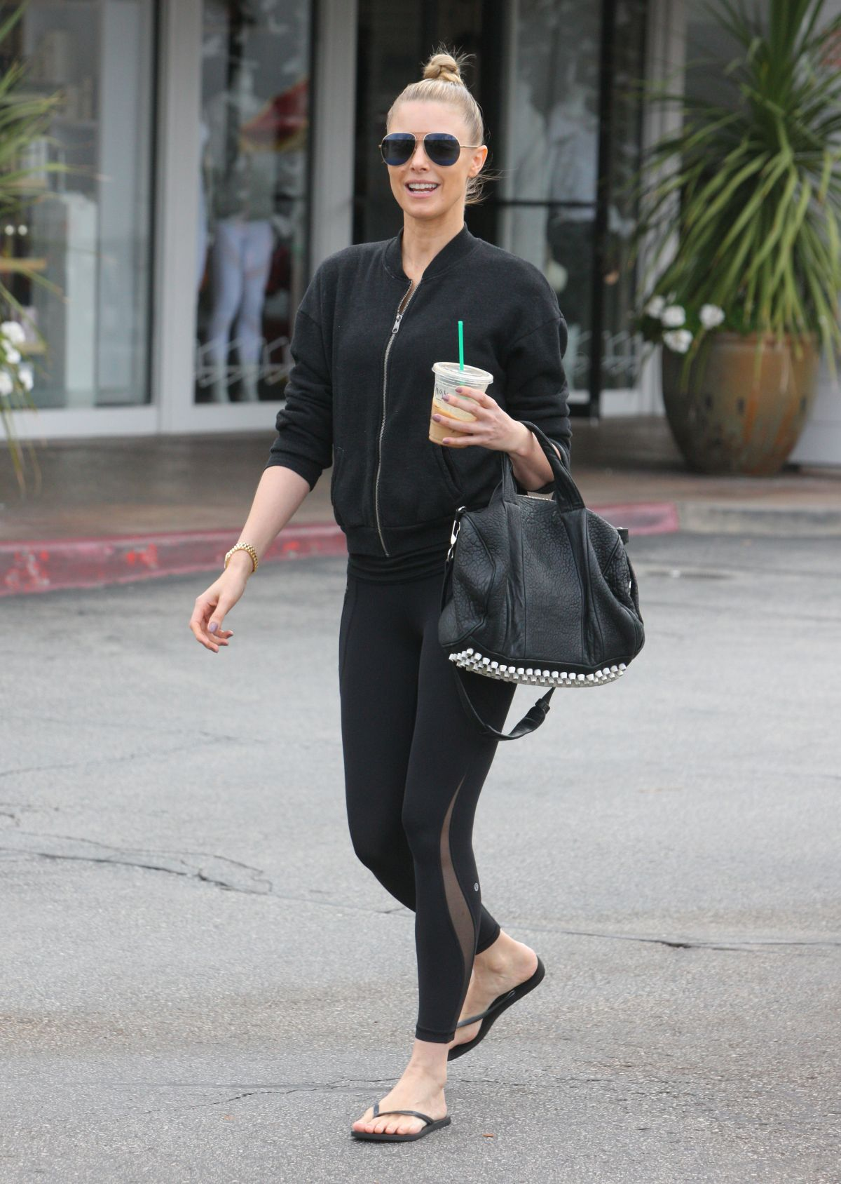 PAIGE BUTCHER Out and About in Beverly Hills 05/30/2017
