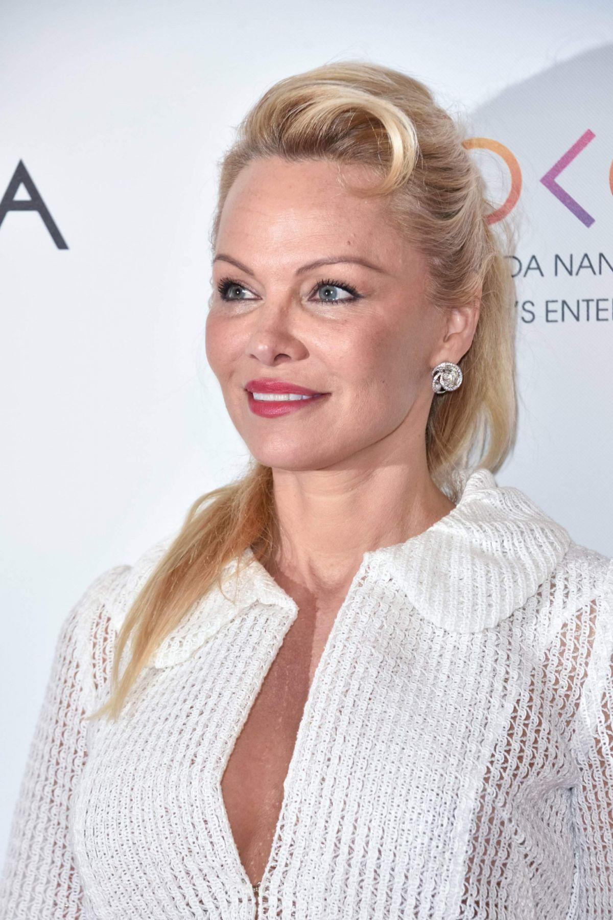 PAMELA ANDERSON at 2017 Global Gift Gala in Paris 05/16 ... Pamela Anderson