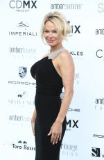 PAMELA ANDERSON at Amber Lounge Fashion Monaco 2017 at Le Meridien Beach Plaza in Cannes 05/26/2017